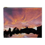 Sunset Sky Large cosmetic bag - Cosmetic Bag (XL)