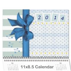 Kids Calendar Seasons By Zloradi   Wall Calendar 11  X 8 5  (12 Months)   Otvt8ukzo9l8   Www Artscow Com Cover