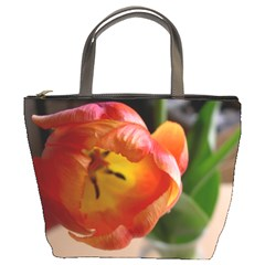 Bucket Bag Tulips By Ellan   Bucket Bag   29ibdmus2gzq   Www Artscow Com Front
