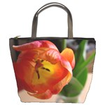 bucket bag tulips