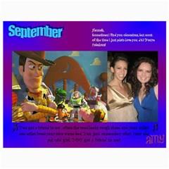 Hannah Calendar By Amy   Wall Calendar 11  X 8 5  (12 Months)   Pbapelhejzow   Www Artscow Com Month