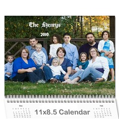 Calendar 2010 By Tricia Henry   Wall Calendar 11  X 8 5  (12 Months)   Zwmnf11kl93g   Www Artscow Com Cover
