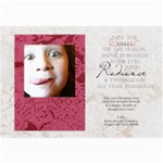 ruby card - 5  x 7  Photo Cards