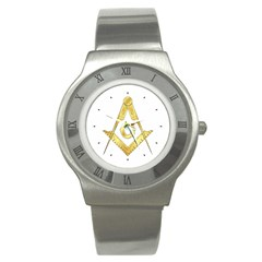 G.S. Stainless Steel Watch by vsmasonictees