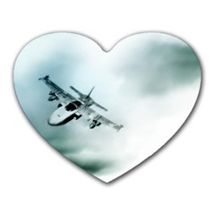 Aircraft Mousepad (Heart) by Xvmon