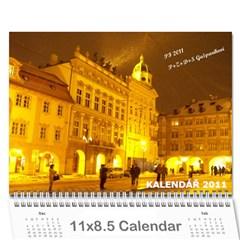 Kalendář 2011   Gašparíkovi By Petr Ga?parík   Wall Calendar 11  X 8 5  (12 Months)   Unj7wv5hfuu6   Www Artscow Com Cover