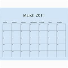 Kalendář 2011   Gašparíkovi By Petr Ga?parík   Wall Calendar 11  X 8 5  (12 Months)   Unj7wv5hfuu6   Www Artscow Com Mar 2011