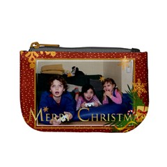 Christmas By Wood Johnson   Mini Coin Purse   Bt7t0pqdhb8k   Www Artscow Com Front