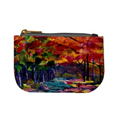 Autumn River By Alana   Mini Coin Purse   Ppo0892tie6e   Www Artscow Com Front