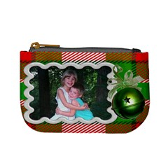 Jingle Bell Coin Purse By Laurrie   Mini Coin Purse   Znmpbzk9ddsq   Www Artscow Com Front
