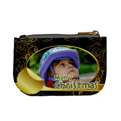 Christmas By Wood Johnson   Mini Coin Purse   Nzq56qj7dpui   Www Artscow Com Back