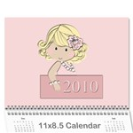 calendar girls example - Wall Calendar 11  x 8.5  (12-Months)