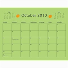 Calendar Girls Example By Rubyjanedesigns   Wall Calendar 11  X 8 5  (12 Months)   Jkuwbbfozmp2   Www Artscow Com Oct 2010