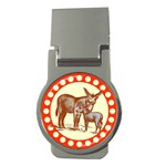 Donkey 9 Money Clip (Round)