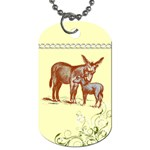 Donkey 9 Dog Tag (One Side)