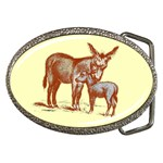 Donkey 9 Belt Buckle