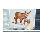 Donkey 9 Business Card Holder