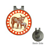 Donkey 9 Golf Ball Marker Hat Clip