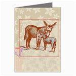 Donkey 9 Greeting Card