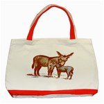Donkey 9 Classic Tote Bag (Red)