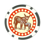 Donkey 9 Poker Chip Card Guard