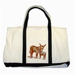 Donkey 9 Two Tone Tote Bag