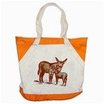 Donkey 9 Accent Tote Bag