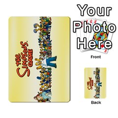 Simps1 By Matteo   Multi Purpose Cards (rectangle)   Dn8drury6inw   Www Artscow Com Back 52