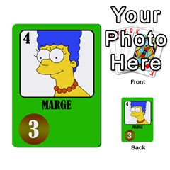 Simps1 By Matteo   Multi Purpose Cards (rectangle)   Dn8drury6inw   Www Artscow Com Front 20