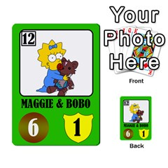 Simps1 By Matteo   Multi Purpose Cards (rectangle)   Dn8drury6inw   Www Artscow Com Front 3