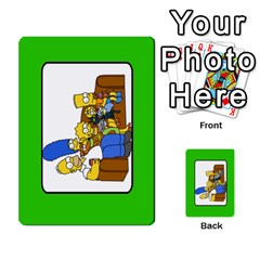 Simps1 By Matteo   Multi Purpose Cards (rectangle)   Dn8drury6inw   Www Artscow Com Back 21