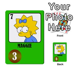 Simps1 By Matteo   Multi Purpose Cards (rectangle)   Dn8drury6inw   Www Artscow Com Front 40