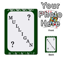 Card Golf2 By Ashley   Multi Purpose Cards (rectangle)   Qftpmcn3uqzg   Www Artscow Com Front 52