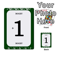 Card Golf2 By Ashley   Multi Purpose Cards (rectangle)   Qftpmcn3uqzg   Www Artscow Com Front 15