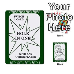 Card Golf2 By Ashley   Multi Purpose Cards (rectangle)   Qftpmcn3uqzg   Www Artscow Com Front 3