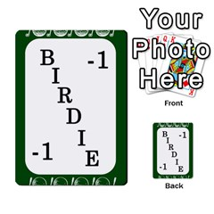 Card Golf2 By Ashley   Multi Purpose Cards (rectangle)   Qftpmcn3uqzg   Www Artscow Com Front 24