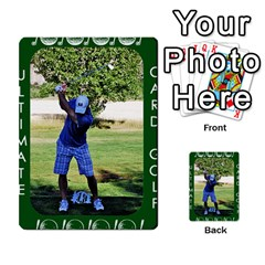 Card Golf2 By Ashley   Multi Purpose Cards (rectangle)   Qftpmcn3uqzg   Www Artscow Com Back 40