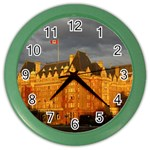 Victoria.BC Color Wall Clock