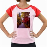 Fall Women s Cap Sleeve T-Shirt