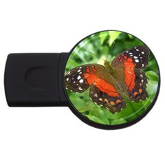 Butterfly USB Flash Drive Round (2 GB) from ArtsNow.com Front