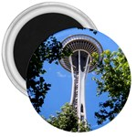 Space Needle 3  Magnet