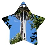 Space Needle Ornament (Star)