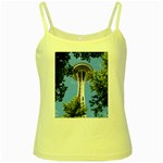 Space Needle Yellow Spaghetti Tank