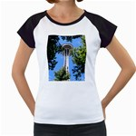Space Needle Women s Cap Sleeve T