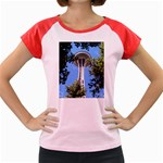 Space Needle Women s Cap Sleeve T-Shirt