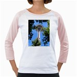 Space Needle Girly Raglan