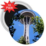 Space Needle 3  Magnet (10 pack)