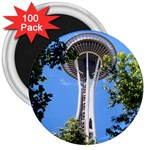 Space Needle 3  Magnet (100 pack)