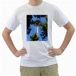 Space Needle White T-Shirt