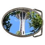 Space Needle Belt Buckle